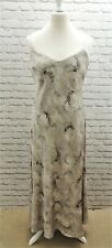 BNWT - PHASE EIGHT- Lovely Silky Silver Dress -16 UK - RRP £90 - Thames Hospice