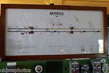 Berwick Signal Box, East Sussex Diagram 2009 Rail Photo