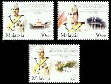 Silver Jubilee Sultan Kelantan Malaysia 2004 Royal People King (stamp) MNH