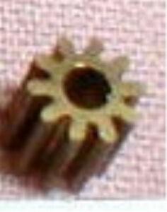 "8 Tooth  Medium  Brass Pinion Gear 48 Pitch for .078""  Motor Shaft Slot Car  NOS"