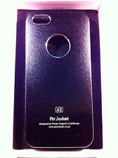 custodia rigida per Apple iPhone 5 5s colore nero metallizzato in alluminio new