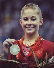 SHAWN JOHNSON Signed USA OLYMPIC GYMNAST GOLD MEDAL Photo w/ Hologram COA