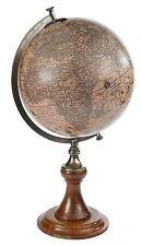 GLOBES - OLD WORLD GLOBE - 17TH CENTURY REPLICA GLOBE - 1627