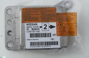Nissan Primera  -  P12    2.2 Di  -  Steuergerät  -  Airbagmodul  -  98820 AV200