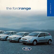 Ford 1999 UK Market Brochure Ka Fiesta Puma Escort Focus Mondeo Cougar Galaxy