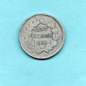 LOUIS PHILIPPE ESSAI 100 F 1831 en ETAIN  par GAYRARD / ESSAY