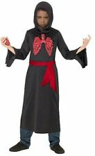 Boys Reaper Beating Chest Fancy Dress Costume outfit Halloween 9-10 years BNWT