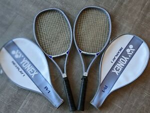 Vintage Yonex Rexplay 1 Mid-Size Tennis Racquets (2, in Excellent Condition)