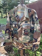Air Force US Military Camo BDU's Coat-Shirt (Med)  and Pants (Med)