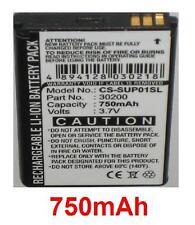 Batterie 700mAh type 1008000134 30200 GPS305CA Pour CALLAWAY uPro, uPro Go