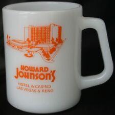 Vintage HOWARD JOHNSON'S Casino Glasbake Glass Mug