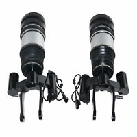 Pair Front Left Right Suspension Air Spring Strut  Mercedes E-Class W211 4MATIC