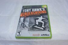 Tony Hawk's Underground (Microsoft Xbox, 2003) Brand New Factory Sealed