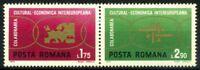 Romania 1972 Mi. 3020-3021 yye Nuovo ** 100% Culturale Economica Intereuropeana