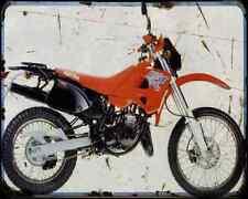 Aprilia Etx 125 98 03 A4 Metal Sign Motorbike Vintage Aged