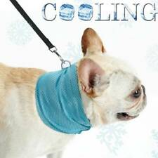 Cooling Dog Bandana Instant Ice Cool Relief Avoid Heat/Sunstroke S,M,L UK Seller