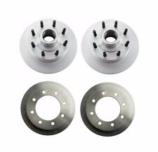 NEW Ford E-250 99-05 Set of 2 Rear and 2 Front Disc Brake Rotors Brembo