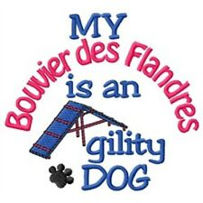 My Bouvier des Flandres is An Agility Dog Short-Sleeved Tee - Dc1744L