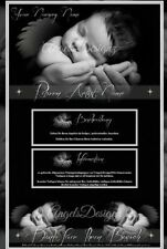 Auktionsvorlage Dream Angel Baby Reborn Mobile Responsive Template 705