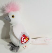 "TY Beanie Babies ""KUKU"" the COCKATOO Bird - MWMTs! RETIRED! CHECK OUT MY BEANIES"