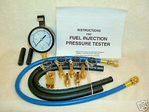 FUEL INJECTION PRESSURE TESTER  Dual Scale PSI & BAR