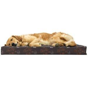 FurHaven Indoor/Outdoor NAP Deluxe Pet Bed *Large-Bark Brown*