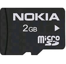 Bundle Genuine SanDisk 1GB + 2GB & Nokia 2GB Micro SD Memory Flash Card + 128MB