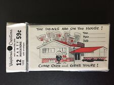 Vintage DRINKS ON THE HOUSE Party Invitations Envelopes 12 Pk Vagabond Creations