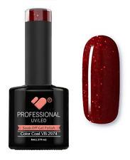 VB-2974 VB™ Line Dark Red Glitter Saturated - UV/LED soak off gel nail polish