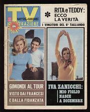 SORRISI 27/1967 RITA PAVONE CANTAGIRO PRAVO PATRICK SAMSON GIMONDI DE ANDRE'