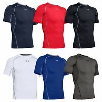 Under Armour Men's HeatGear Short Sleeve Compression Shirt Base Layer Shirt