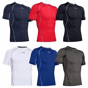Under Armour Men's HeatGear Short Sleeve Compression Shirt Base Layer Shirt