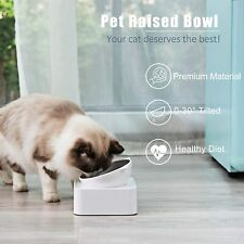 Upsky Peto Cat Dog Bowl Raised Cat Food Water Bowl with Detachable Elevated