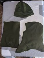 Poly Toque,Neck warmer & 1 Hole Balaclava 3 pack combo Canadian Military Surplus