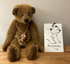 More details for bearability by kim - marmite - rare vintage limited edition artist bear 6/10