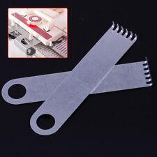 2 un. Colgador de peso de garra adaptarse a la mayoría de Hermano Singer Máquina de Tejer de 4.8 X 1 in (approx. 2.54 cm)