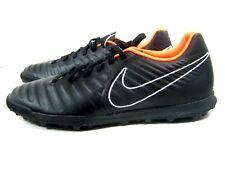 Nike TiempoX Legend VII Club IC Indoor Soccer Black Shoes Cleats Men's Size 12