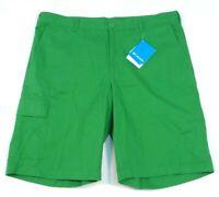 Columbia Sportswear Company Red Bluff Green Cargo Shorts Men's NWT