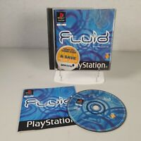 Fluid Playstation PS1 Puzzle Video Game Manual PAL