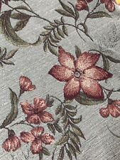 Floral Fabric: Bed Cover / Bedspread /  Double Bed Throw