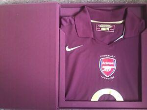 ARSENAL 2005/2006 LIMITED EDITION 1929/3000 shirt jersey HIGHBURY L with box