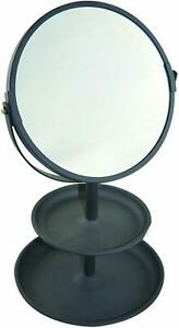 Butlers Vanity Mirror / Tray Coal