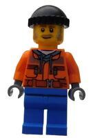 Lego Mann Mitarbeiter Pistenraupe Arbeiter cty0990 Minifigur Mechaniker City Neu