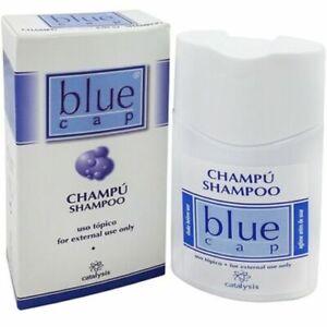 Blue cap shampoo against psoriasis dermatitis eczema hydrates skin 150ml