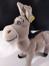 Shrek 2 Donkey Plush Stuffed Animal DreamWorks Nanco 2004 Retired Rare NOS