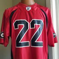 Georgia Bulldogs Starter Jersey Football 22 UGA Dawgs Red Black Size Medium