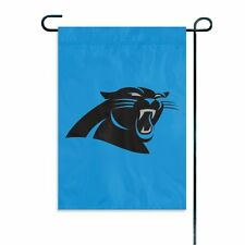 Carolina Panthers GARDEN Window Flag Banner Applique Embroidered Football