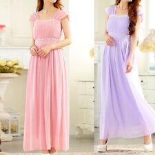 Chiffon Square Neck Formal Ballgowns for Women