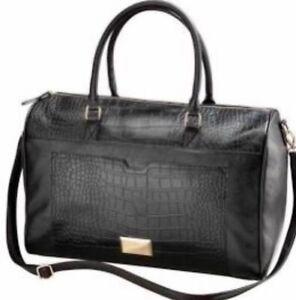 Lipsy London Gateway  Black Holdall Weekender Bag