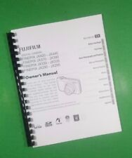LASER PRINTED Fujifilm JX370 JX390 JX420 JX440 Camera 114 Page Owners Manual